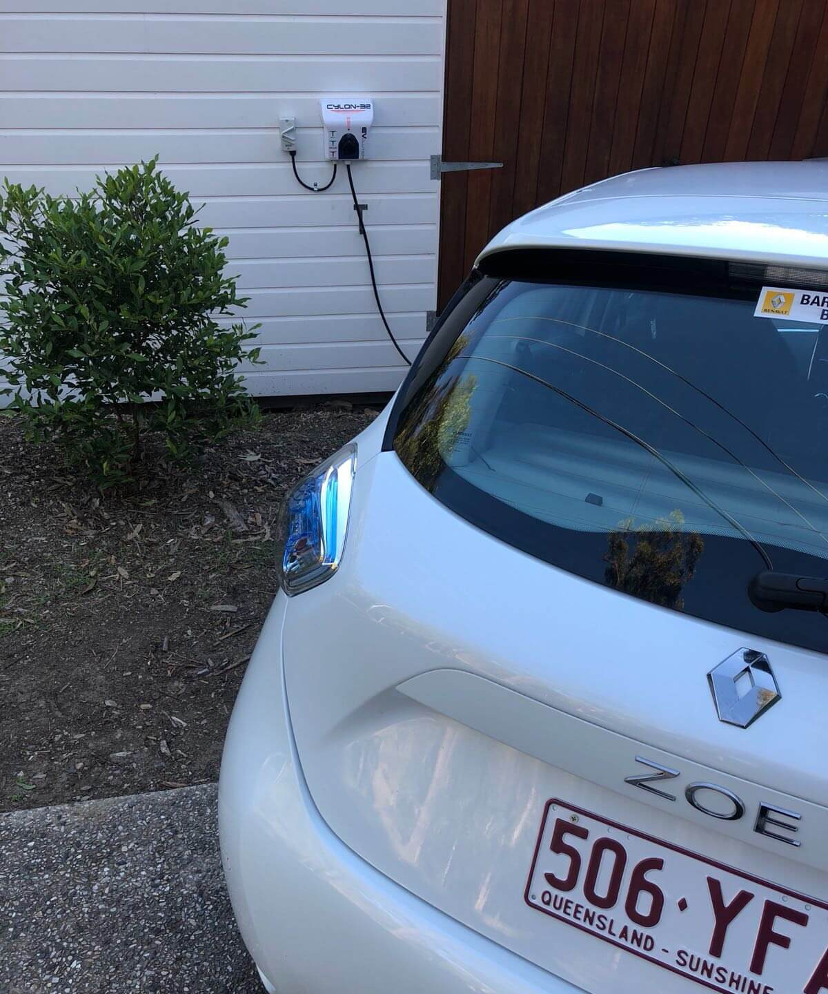 Renault Zoe Charging Domestic