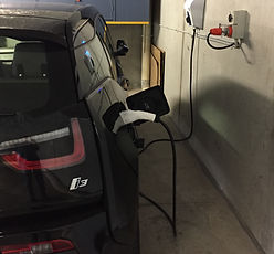 BMW i3 Cylon electric car charger