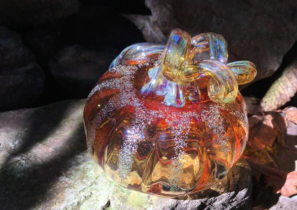 Transparent Orange Pumpkin