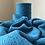 Thumbnail: Merino Marine Blue Poncho