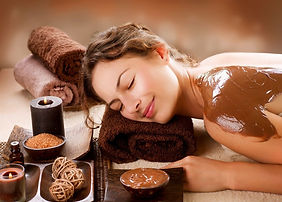 massaggio al cioccolato Alchimia hair and beauty