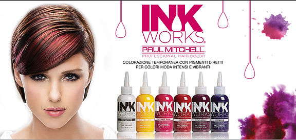 ALCHIMIA HAIR AND BEAUTY INK WORKS PAUL MITCHELL