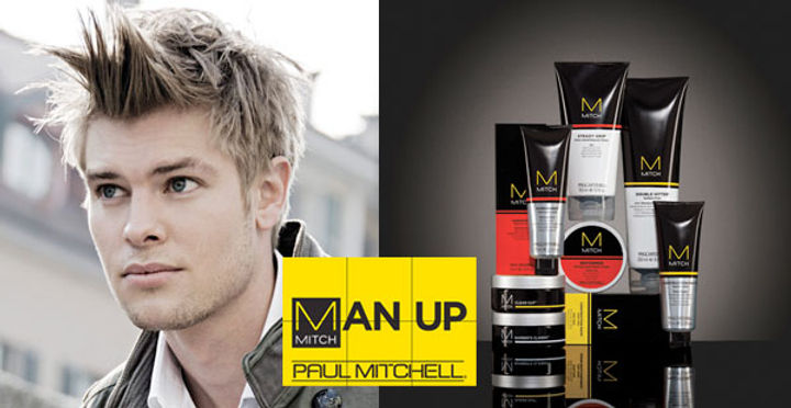 ALCHIMIA HAIR AND BEAUTY MITCH LINEA UOMO PAUL MITCHELL