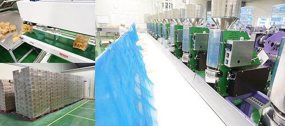pop cake production line