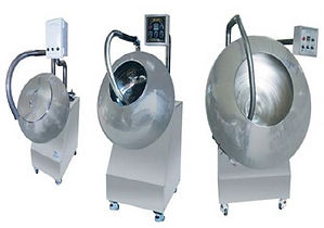 food polishing and coating machinery
