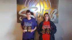 Lori Parker and Nancy Amos