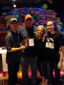 Mens Hall of Fame family_Award presented posthumously