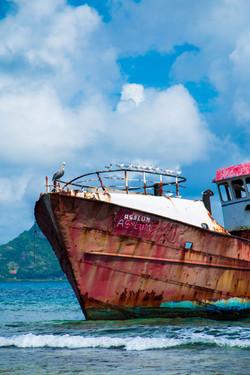 L'Ilet 'Ghost ship' wreck