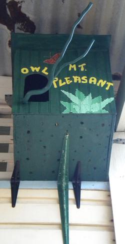 Mt Pleasant school, the owlhouse 1