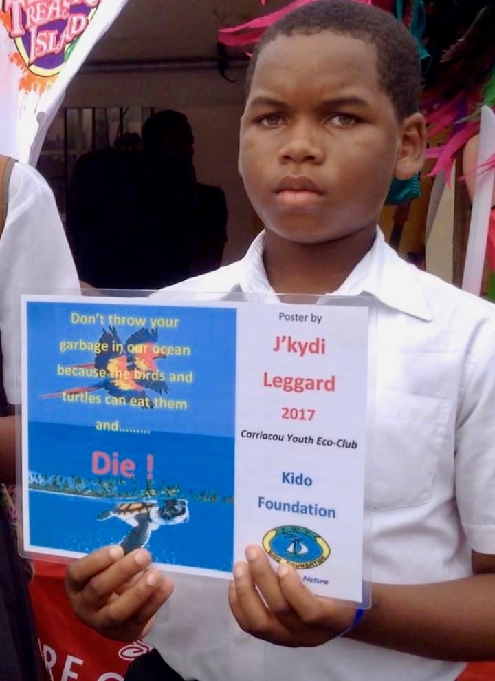 J'kydi and his poster