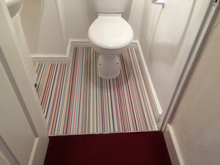 Candy Stripes for your bathroom?
