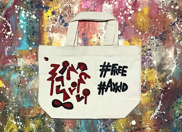 Freestyle Hashtags Tote Bag