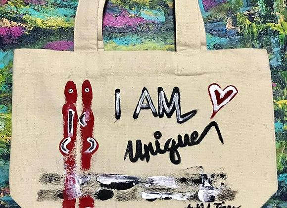 I AM UNIQUE Tote Bag