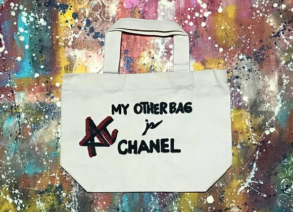 My Other Bag is CHANEL Tote Bag
