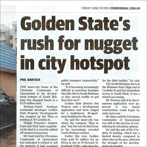 GOLDEN STATE'S RUSH FOR NUGGET IN CITY HOTSPOT