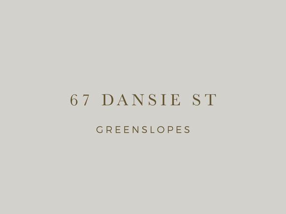 Dansie St Greenslopes branding by Wall St Creative