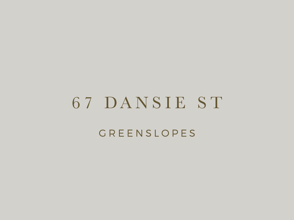 Dansie St Greenslopes branding by Wall St Creative