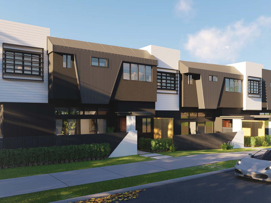 Orchid Townhomes Taringa, branding by Wall St Creative