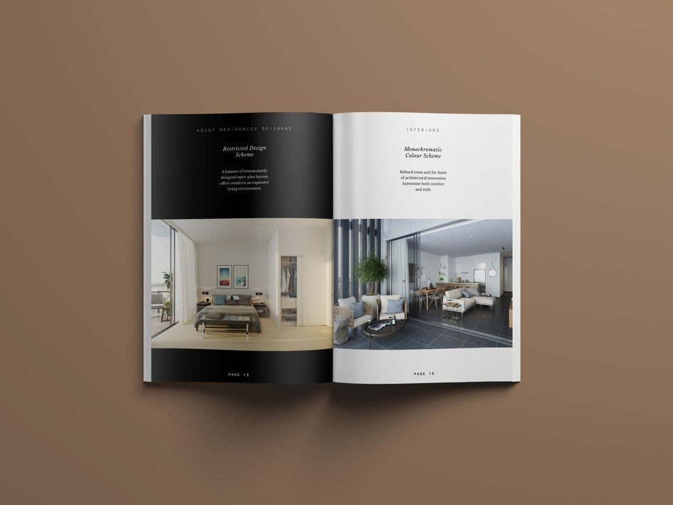 Ascot Residences Brisbane Branding by Wall St Creative