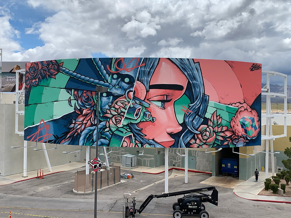 sofles large scale murals