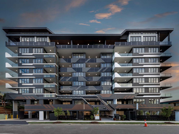 Augustus Residences Toowong branding by Wall St Creative