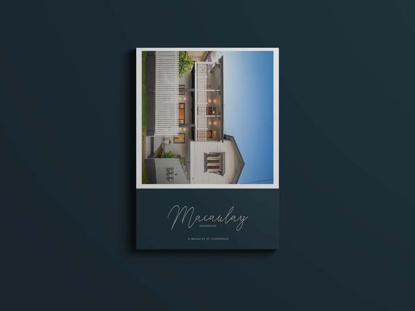 Macaulay Residences Coorparoo, branding by Wall St Creative