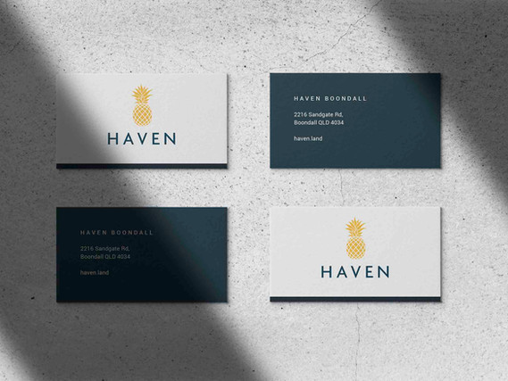 Haven Boondall branding by Wall St Creative