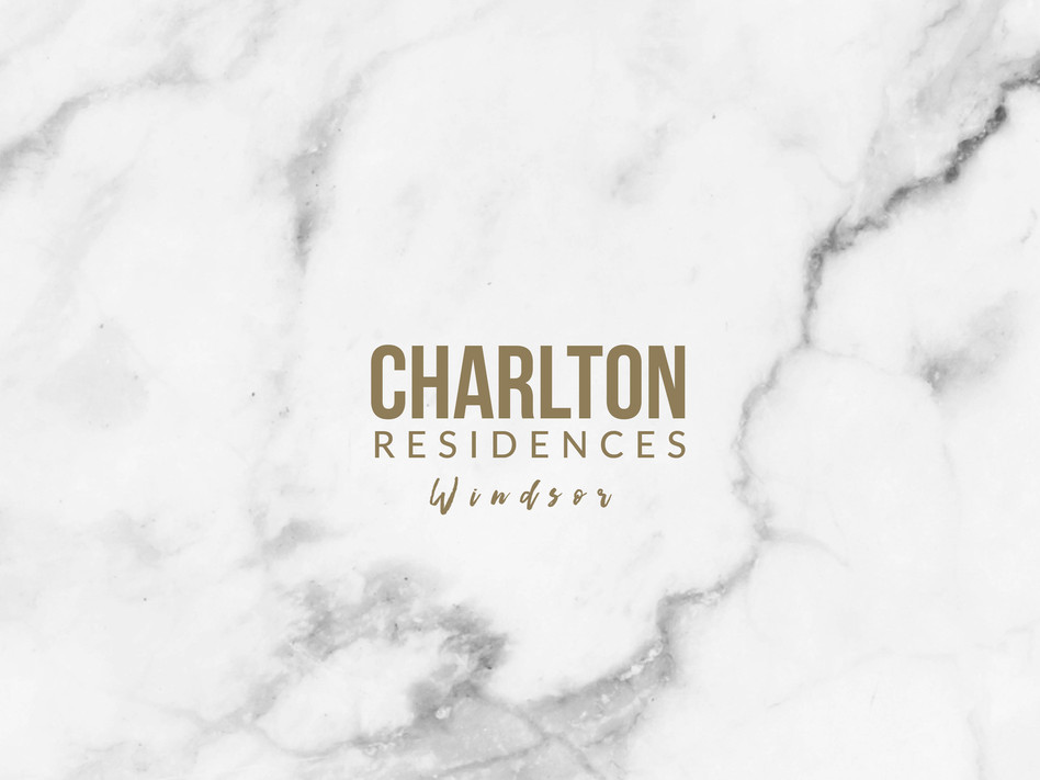 Charlton Residences Windsor branding by Wall St Creative