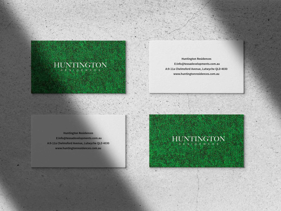 Huntington Residences Lutwyche branding by Wall St Creative