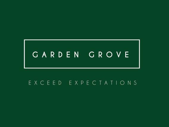 Garden Grove branding by Wall St Creative