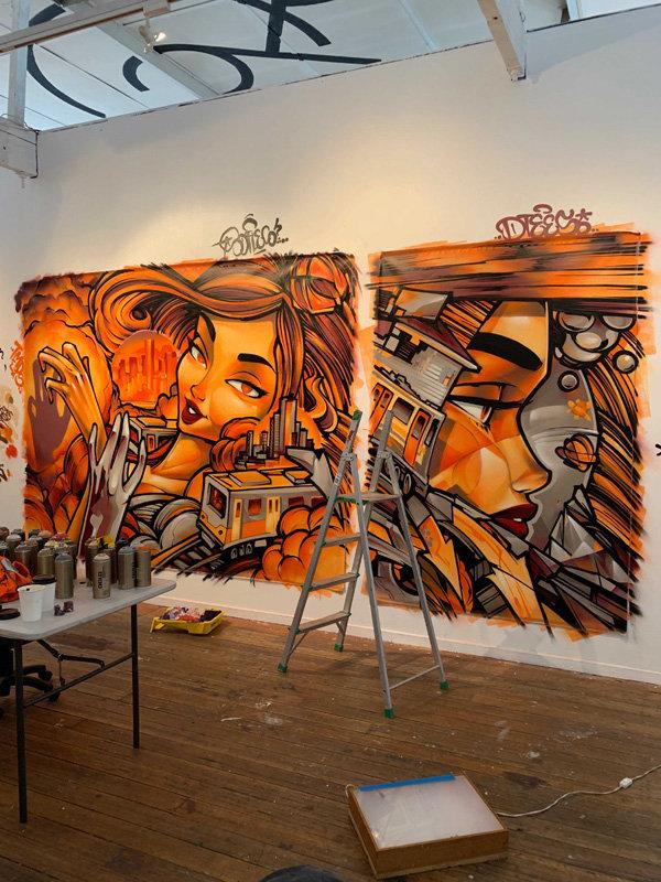 Soles studio work