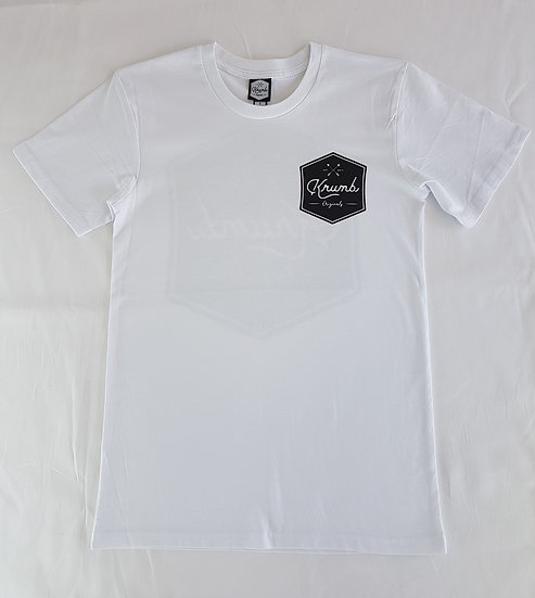 Krumb Logo Shirt White