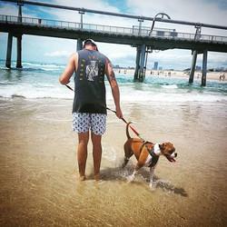 Summer Vibes🤙__New Stuff Coming Soon__#krumb #krumboriginals #kingkrumb #beach #bestfriend #doggo #