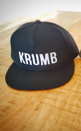 Black Embroidered Hat