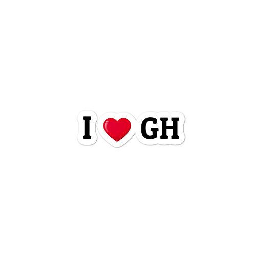 I Love GH Sticker