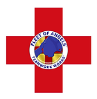 FOA logo over red cross, square edges .p