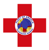 FOA logo over red cross, square edges .p