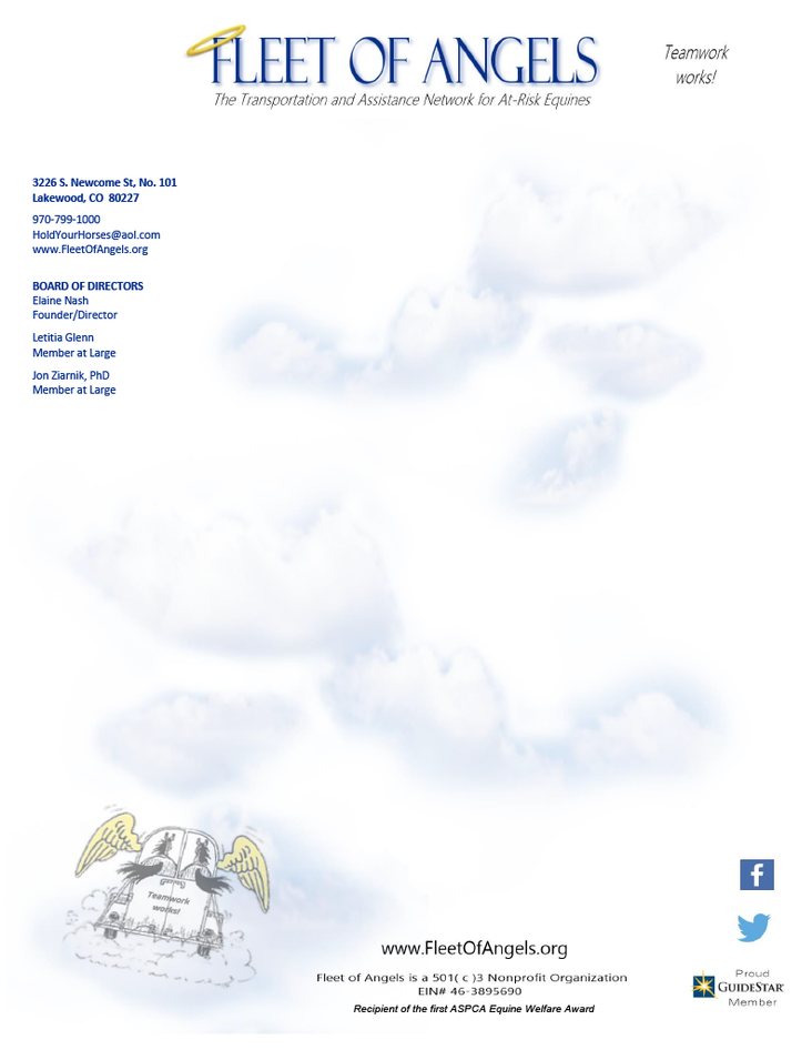 FLEET OF ANGELS LETTERHEAD TEMPLATE - JA