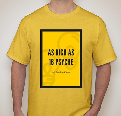 16 Psyche t-shirt