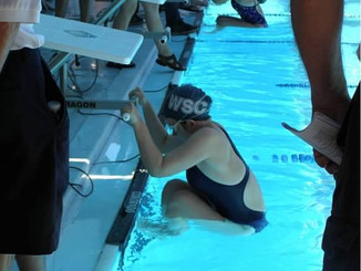 Growing up an untalented swimmer