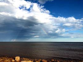 Rainbow over the Northumberland Strait