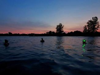 Distance swim, Britannia 4.1km in the dark
