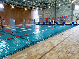 Distance swim, 4.8km at Dieppe Aquatic & Sports Centre