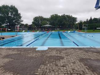 Distance swim, 30 km this week!