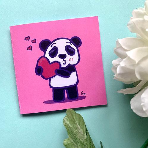 Panda Love - Greeting Card