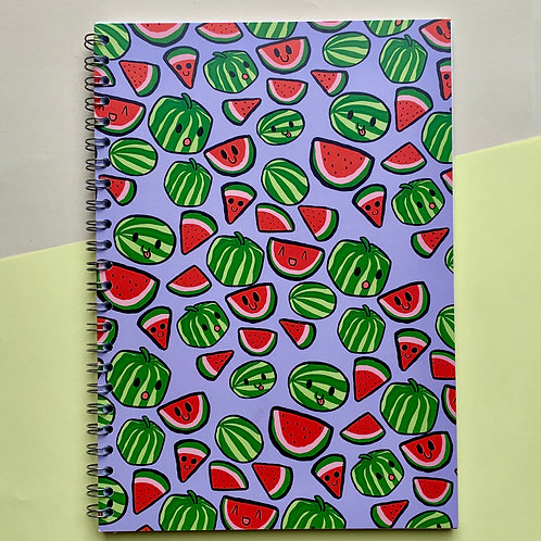 Cool Watermelon - Notebook