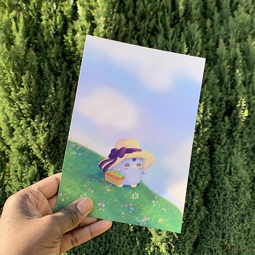 A Summer Walk - A5 Print