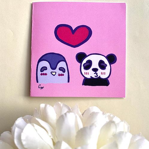 All The Love - Greeting Card