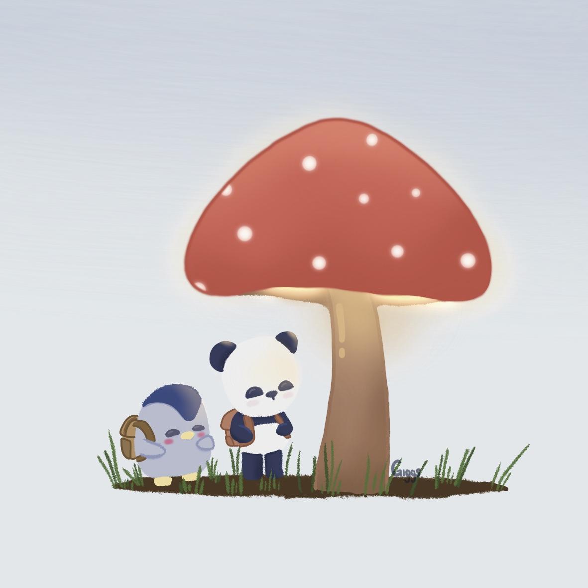Day 93 of 100: Mushroom