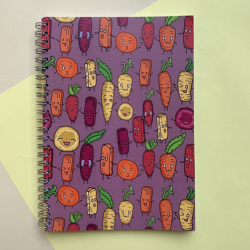 Yummy Carrots - Notebook